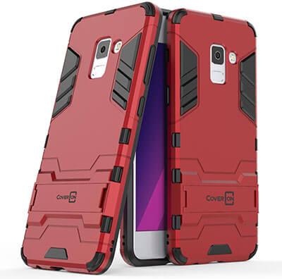 CoverON -Shadow Armor Series Galaxy A8 Plus 2018 Case