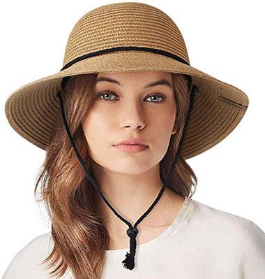 Furtalk Women's Wide Brim Sun Hat