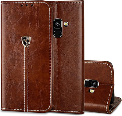 AIYZE Galaxy A8 Wallet Case