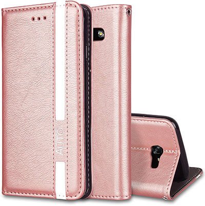 WIITOP Samsung Galaxy A8 Plus 2018 Wallet Case