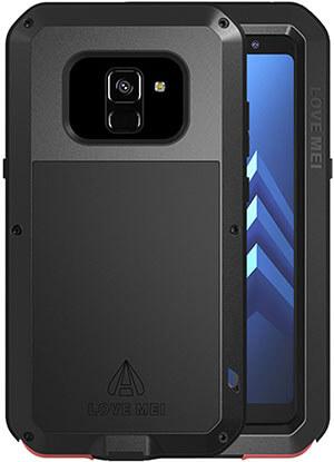 Simicoo Samsung A8 Plus 2018 Case- Aluminum Alloy Metal Bumper