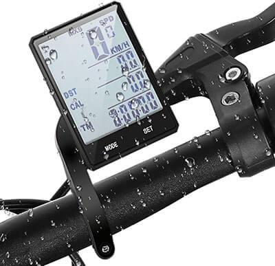 Cycloving Wireless IPX6 Water Resistant Bike Speedometer Computer