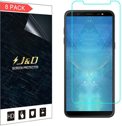 J&D Galaxy J8 Screen Protector