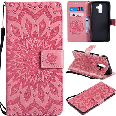 Mellonlu Premium PU Leather Flip J8 Folio Wallet Case