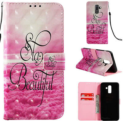Love Sound Galaxy J8 wallet case