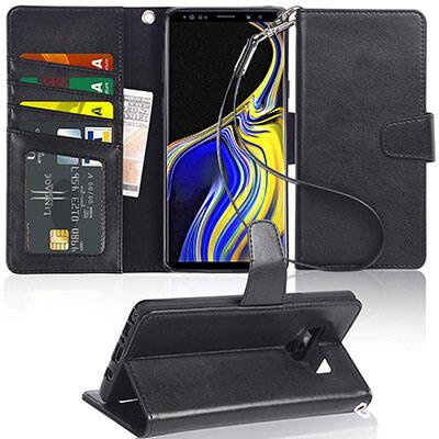 Arae Samsung Note 9 Wallet Case