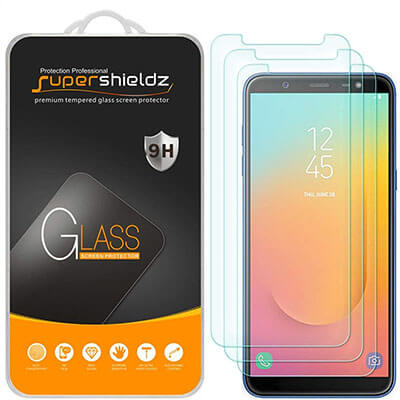 Supershieldz Samsung Galaxy J8 (2018) Tempered Glass Screen