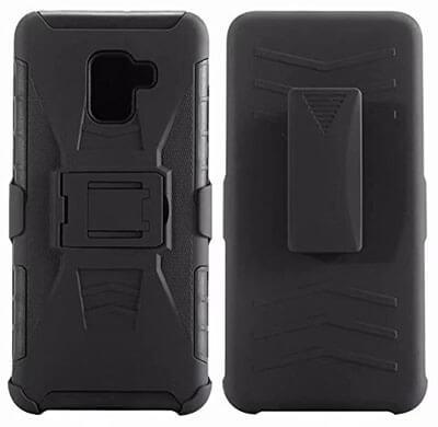 KAWOO Galaxy Heavy-duty A8 Plus 2018 Case