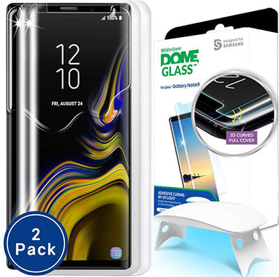 Dome Glass Note 9 Glass Screen Protector