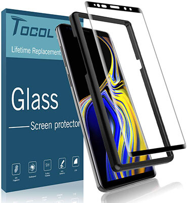 TOCOL Samsung Galaxy Note 9 Tempered Glass Protector