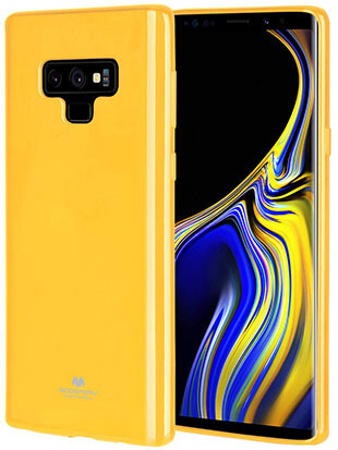 GOOSPERYPearl Jelly Rubber TPU Samsung Galaxy Note 9 Bumper Cover