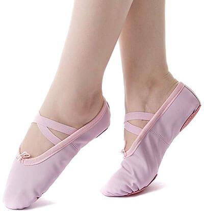 Nexete Ballet Slipper Shoes for Toddlers
