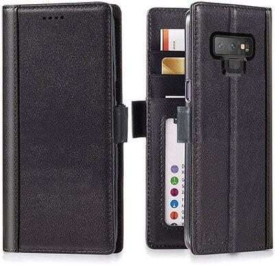 iPulse Journal Series Galaxy Note 9 Wallet Case