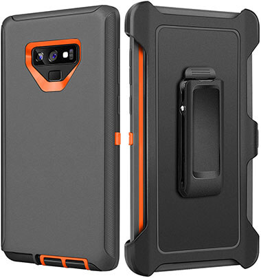 FOGEEK Galaxy Note 9 Case, Heavy Duty Rugged Armor Full Body Case