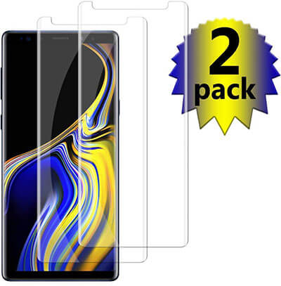 EIROO Samsung Galaxy Note 9 Tempered Glass Screen Protector