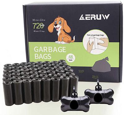 OUGE Dog Poop Bags Pet Dog Waste Bags