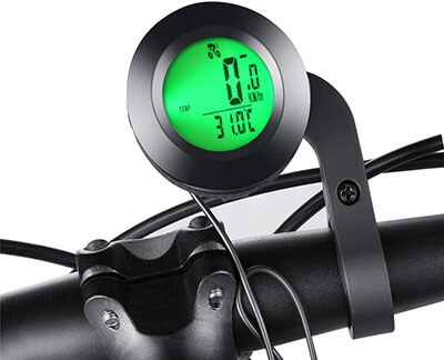 KAZOLEN Multi-Functions Waterproof Bicycle Computer