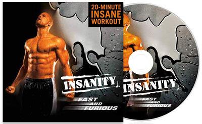 Beachbody INSANITY Fast Furious DVD Workout
