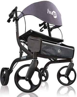 Hugo Mobility Rollator Walker