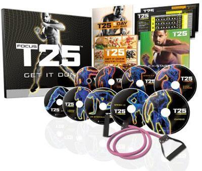 Beachbody FOCUS- T25 Shaun Ts DVD Workout Program