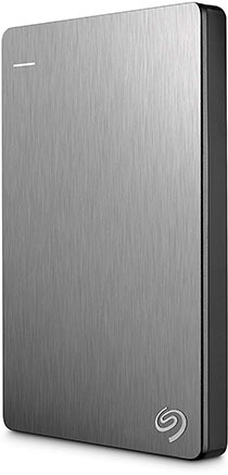 Seagate 2TB Backup Plus Slim Portable External Hard Drive