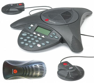 Polycom Sound Station 2 EX with 2 Mics Included