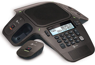 AT&T SB3014 DECT-6.0 Conference Phone - Four Wireless Mics