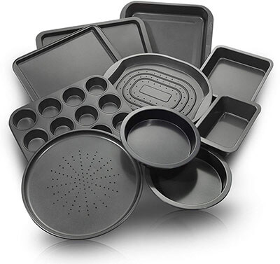 ChefLand Nonstick Bakeware Set 10-Piece