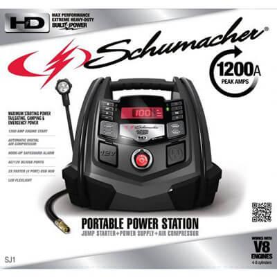 Schumacher Portable Power Station 1200-Amp