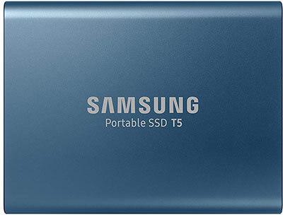 Samsung T5 500 GB Portable SSD
