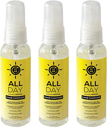 All Day 3 Pack Hand Sanitizer
