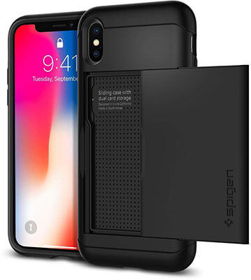 Spigen Slim Armor for Apple iPhone Xs- CS Designed