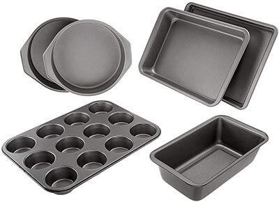 AmazonBasics Nonstick Bakeware Set 6-Piece