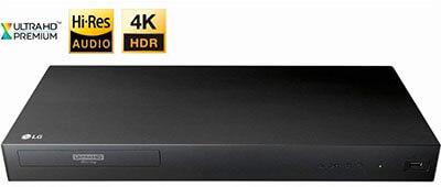 LG 2017 4K UHD 3D Blu-ray Player