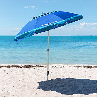 Tommy Bahama 7 Foot Beach Umbrella 2016 w/Tilt