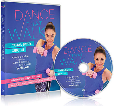 Dance That Walk Cardio and Toning in a Low Impact Walking Workout DVD