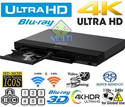 SONY X700 Multi-Region Blu-ray Disc player