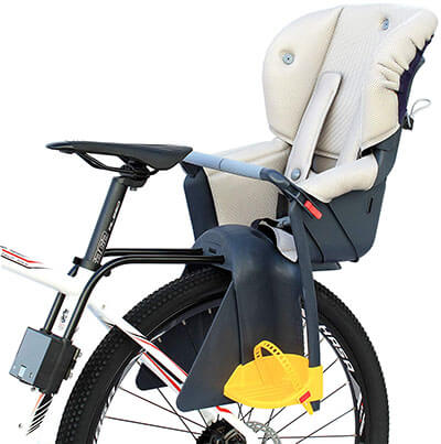 CyclingDeal Bicycle Kid's Rear Baby Seat Bike Carrier