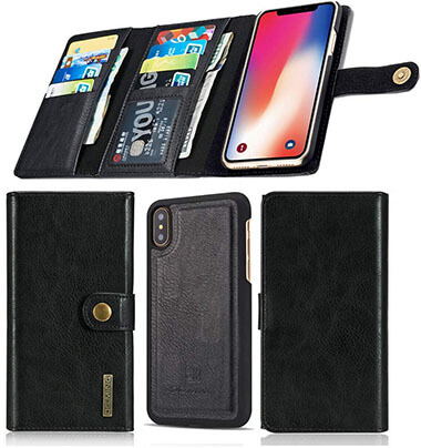 Aiwe iPhone X Wallet Case for iPhone XS
