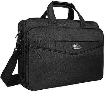 Briefcase 15.6 Inch Laptop Bag Laptop Messenger Bag, Business Office Bag