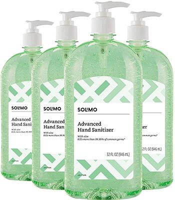 Solimo-Amazon Brand Hand Sanitizer