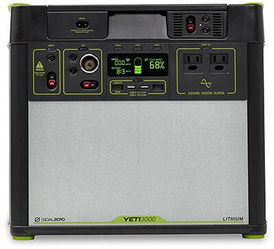 Goal Zero Yeti Lithium Portable Power Station Mobile App Enabled