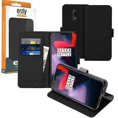 Orzly OnePlus6 Wallet Case Multi-Function Wallet Case