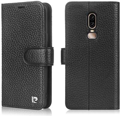Pierre Cardin Wallet Case for OnePlus 6