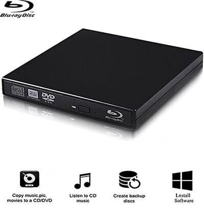 Cisasily External Blu-ray Drives, Blu-Ray Player