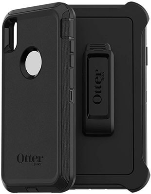 OtterBox DEFENDER SERIES Case for iPhone Xs Max, BLACK