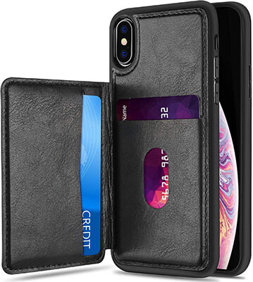 ProCase Leather Wallet Case for iPhone XS Max with Protective Back Cover