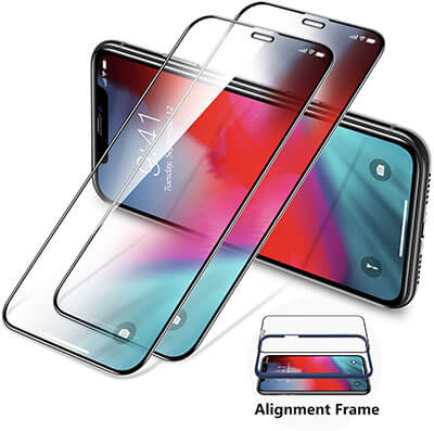 TORRAS Tempered Glass iPhone XS Max Screen Protector