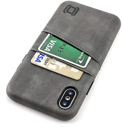 Dockem Exec M2 iPhone Xs and iPhone X Wallet Case