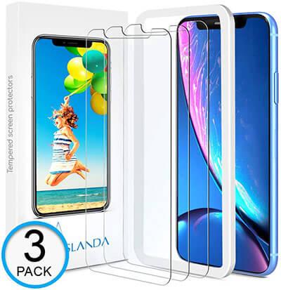 ASLANDA iphone XR screen Protector